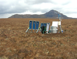 CEH's Forsinard Carbon Catchment research site in the Flow Country, northern Scotland