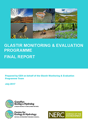 Front cover of Glastir Monitoring and Evaluation Programme final report