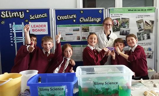 Fun at CEH's STEM Cumbria Big Bang 2015 stand