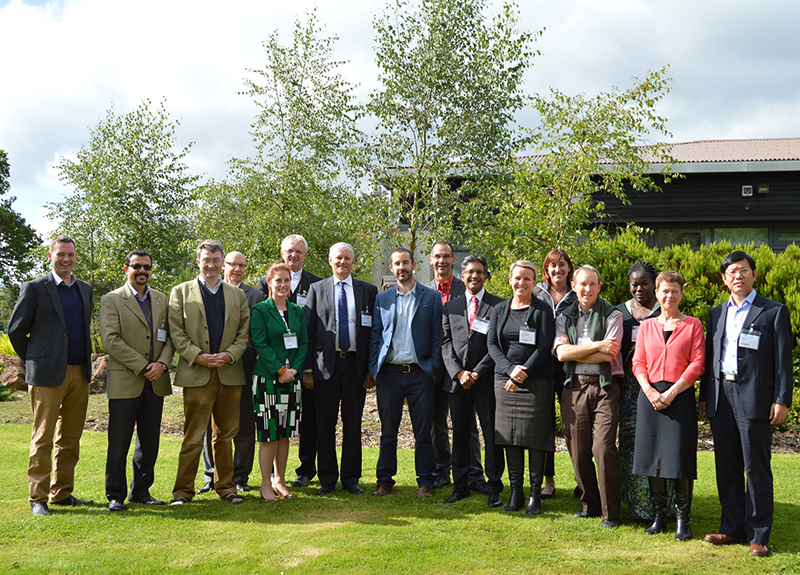 Delegates at the inaugural GPNM Phosphorus Task Team meeting