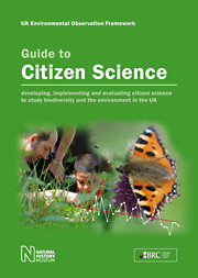 Guide to Citizen Science cover