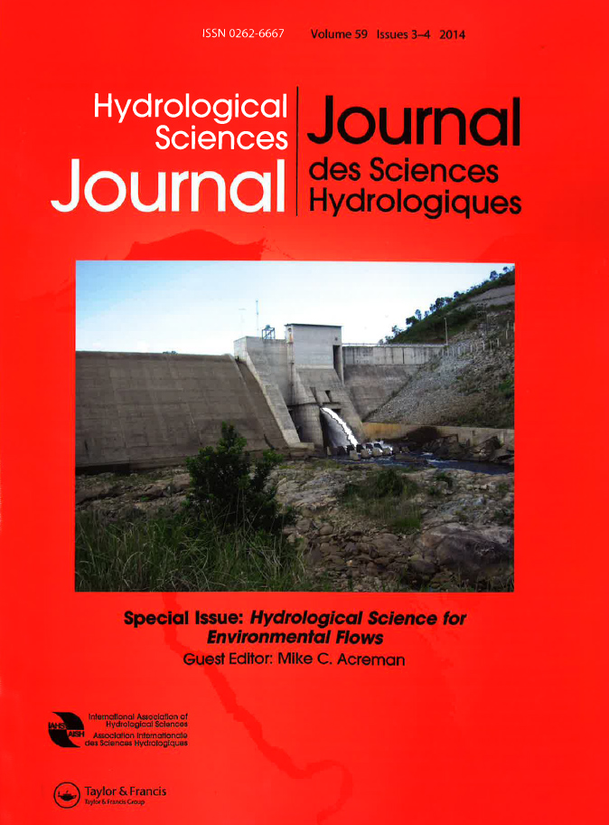Hydrological Sciences Journal special issue cover