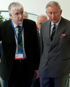 Dr Ian Winfield and HRH The Prince of Wales