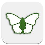 iRecord Butterflies mobile app logo