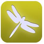 iRecord Dragonflies mobile app logo