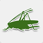 iRecord Grasshoppers mobile app logo