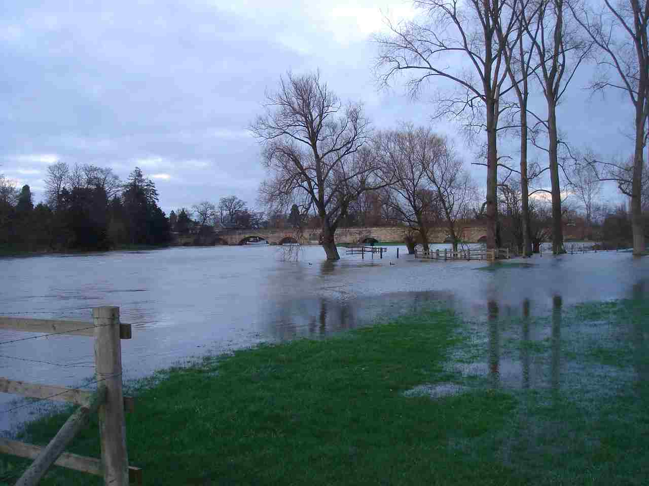 Recent flooding in Wallingford