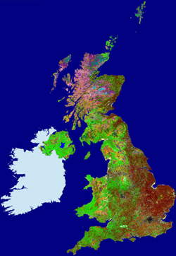 The UK in Land Cover Map 2000