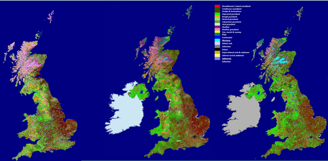 Map Of England 2015.Land Cover Map 2015 Centre For Ecology Hydrology