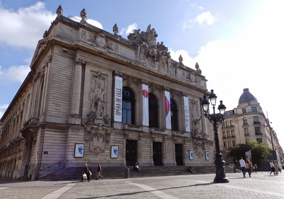 The Opera House in Lille, the capital of French Flanders