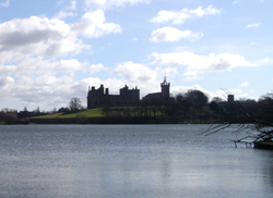 Linlithgow Loch and Linlithgow Palace