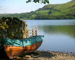A boat by Loweswater