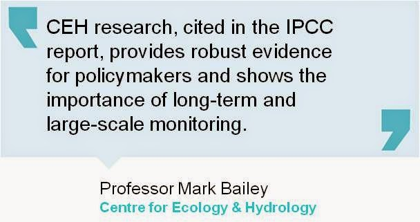 Tweet quote from CEH's Professor Mark Bailey