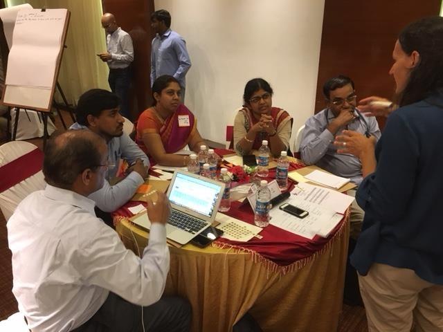 Monkey Fever Risk project workshop participants