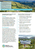 Cover of Natural Capital science area summary