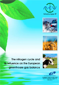 Cover of the Nitrogen Cycle and influence on European GHG balance