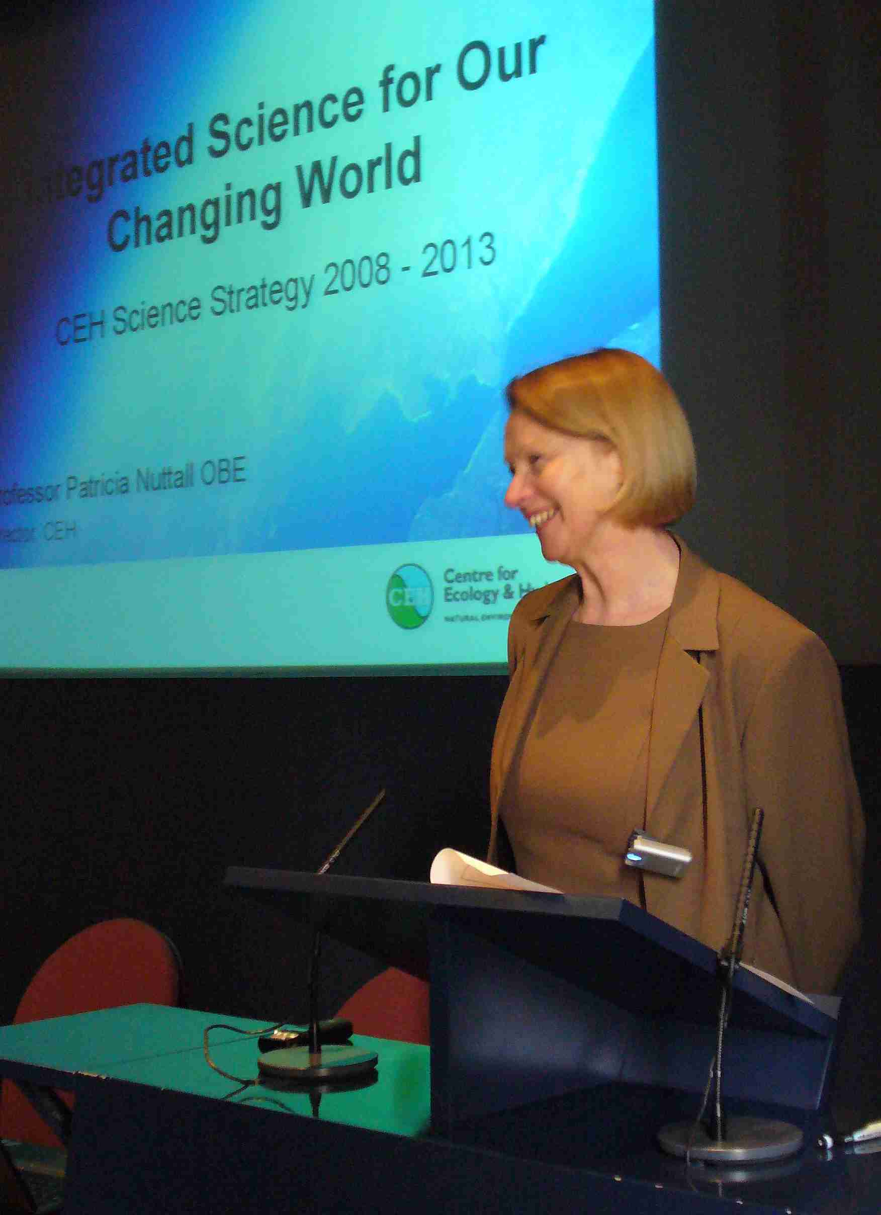 Prof. Pat Nuttall introduces the Science Strategy