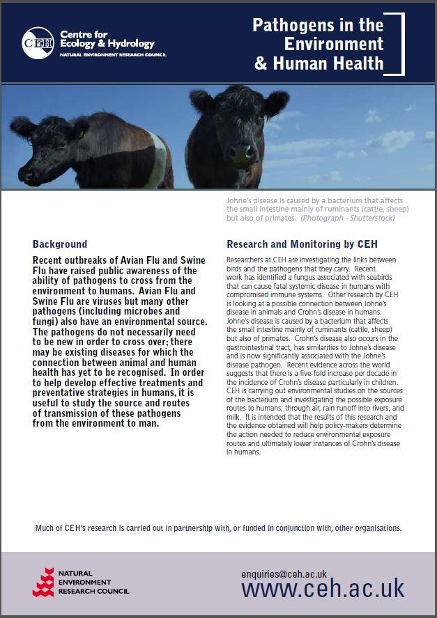 Pathogen leaflet
