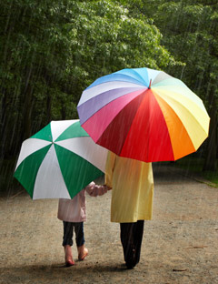 August rainfall above average in many parts of the UK