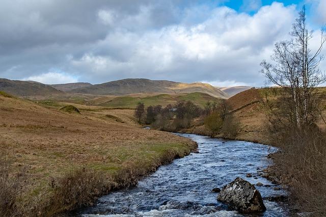 River in Scottish Highlands