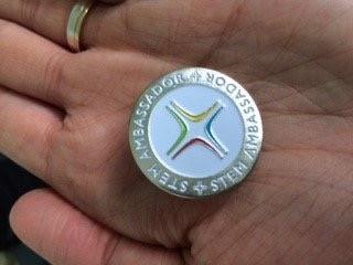 STEM Ambassador medal