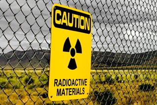 Caution radioactive materials sign image: shutterstock