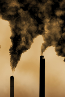 Industrial pollution Photo: Shutterstock