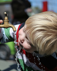 Drinking clean water photo c. Shutterstock