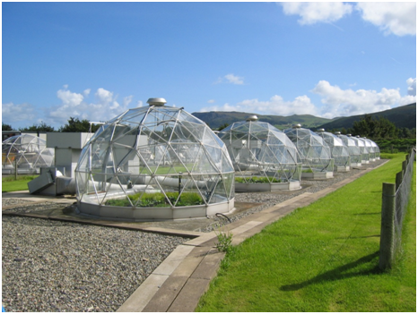Solardomes at the Air Pollution Facility