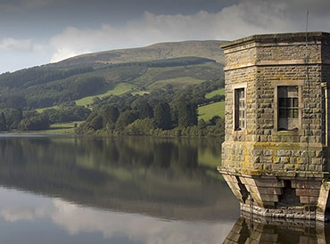 Reservoir in the Brecon Beacons National Park, Wales. Photo: Shutterstock