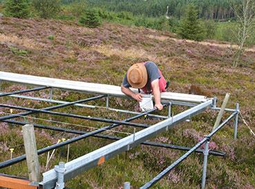 Vegetation analysis at Clocaenog field site