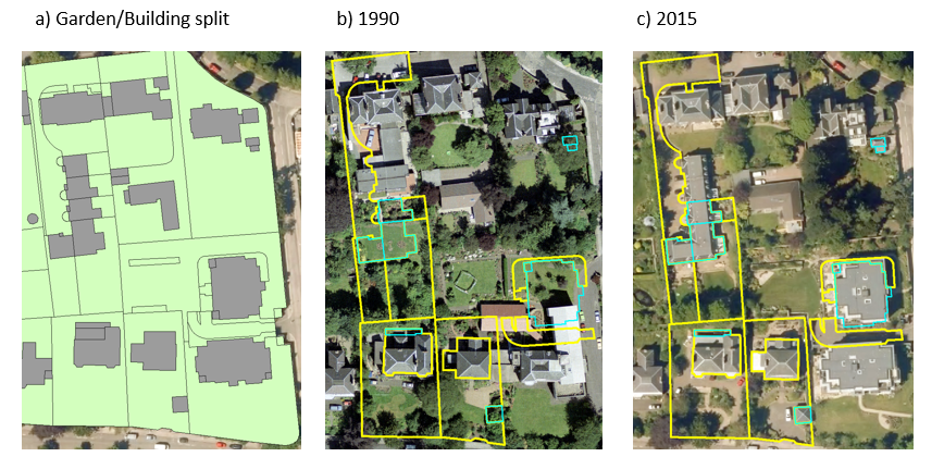 Calculating loss of urban greenspace in Edinburgh