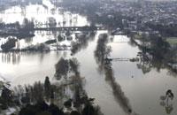 Wallingford in flood - January 2003