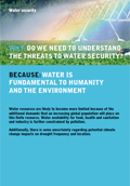 Cover of Water Security leaflet