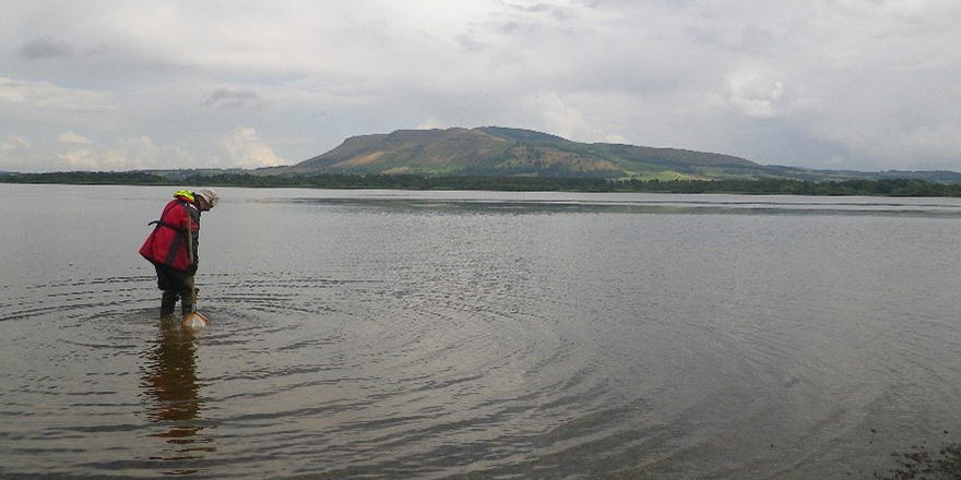 Monitoring water quality and biodiversity at Loch Leven