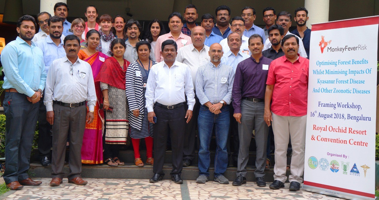 Monkey Fever Risk project framing workshop participants