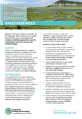 Cover of Water Resources science area summary